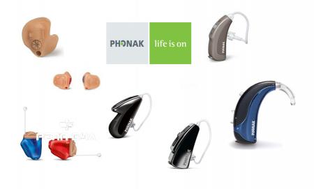 """Слухови апарати """" Phonak """""""